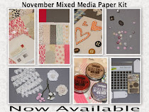 November Mixed Media Paper Kit