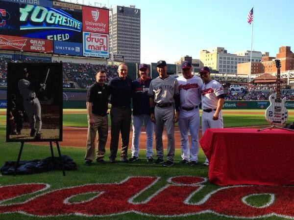 LADY AT THE BAT: Derek Jeter Gift Meter: Cleveland Indians