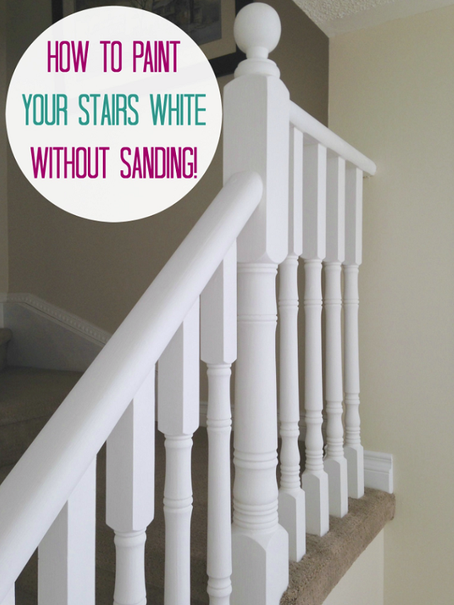 painting hand rails no sanding