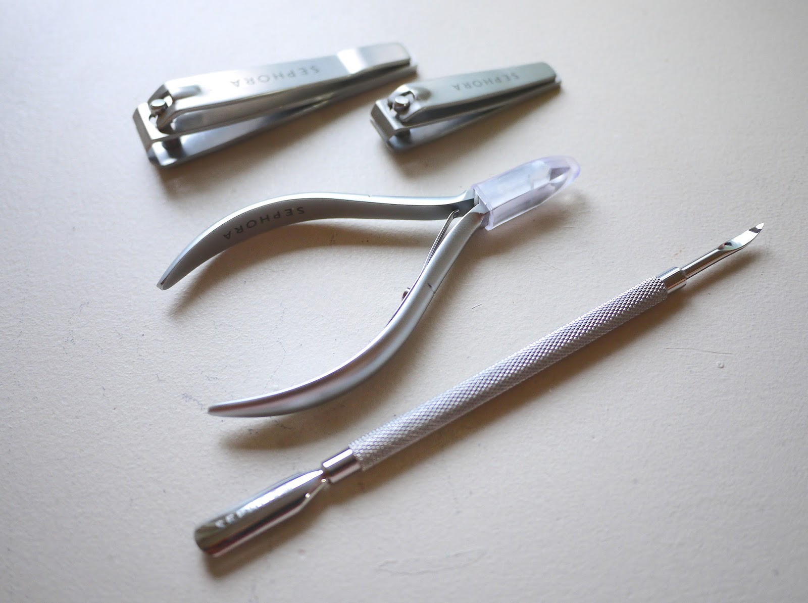 sephora nail and manicure tools review