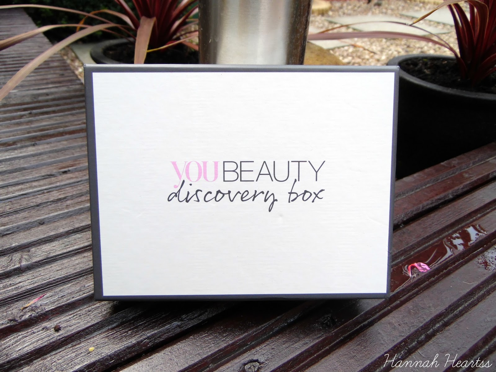 You Beauty Discovery Box August 2014