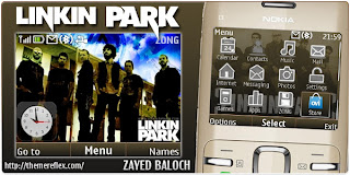 linkin park c3 theme by zb Download Tema Nokia C3 Gratis
