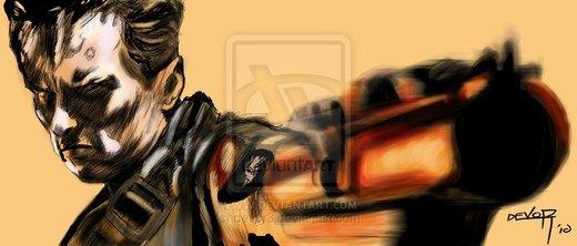Terminator 2 t - 800 por devor3
