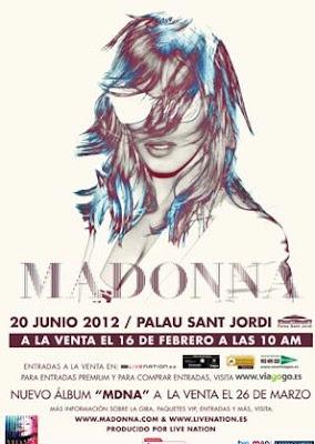Madonna Palau 20 junio Barcelona
