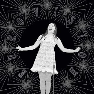 Eurovision, La la la, Massiel, 1968, icono, dibujo