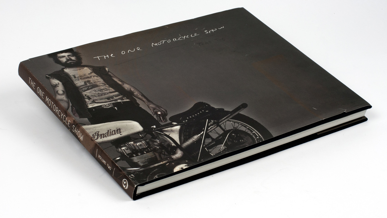 The hip subscription the one moto show coffee table book for Coffee table book design