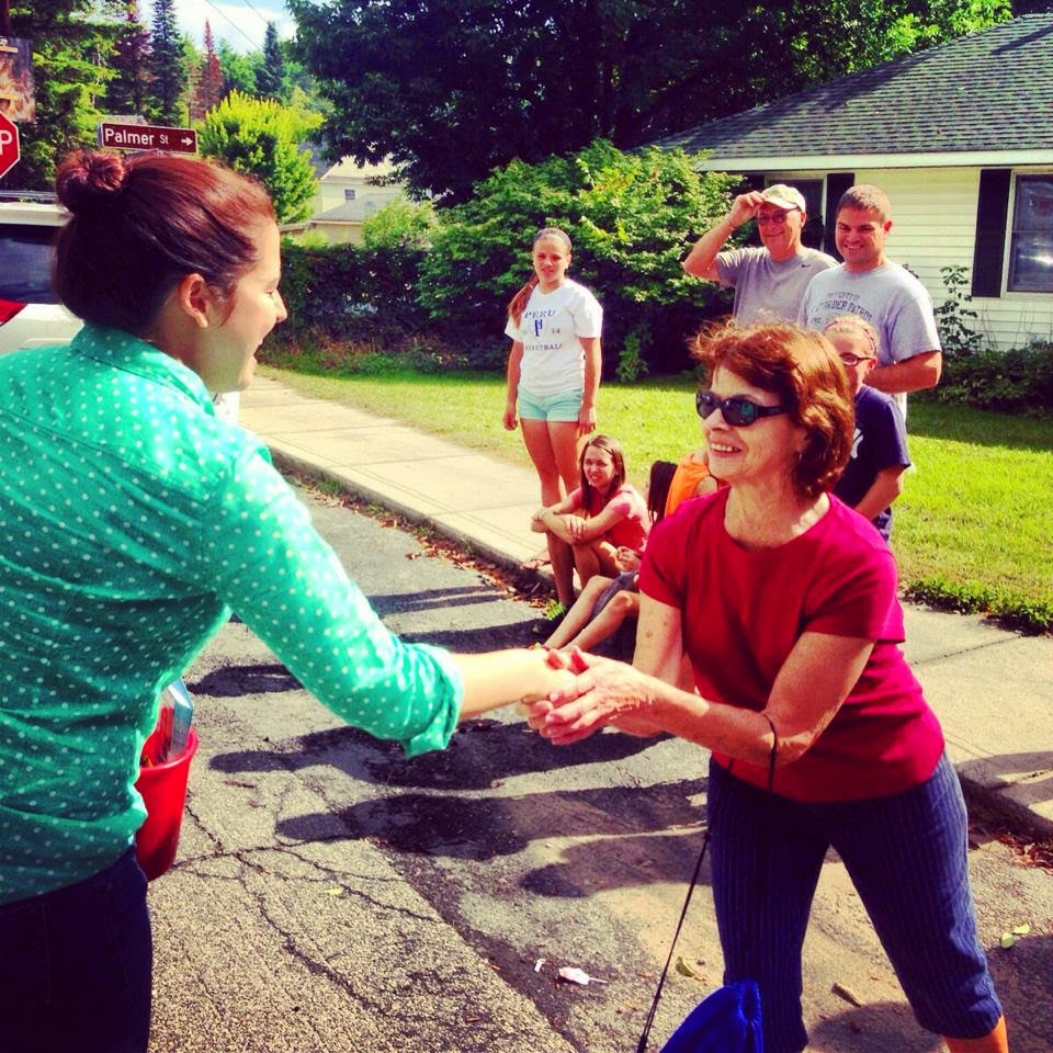 Elise Stefanik at a Labor Day Parade in Ausable Forks