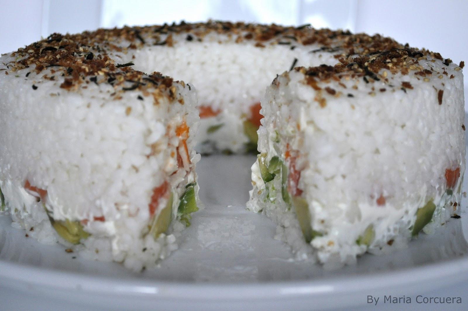 Sushi Cake: