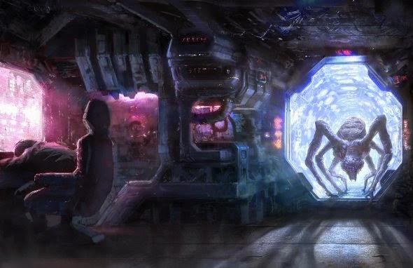 David Demaret moonxels deviantart ilustrações fantasia ficção científica