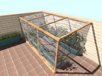 Como se hace un invernadero casero como se hace - Invernadero casero terraza ...
