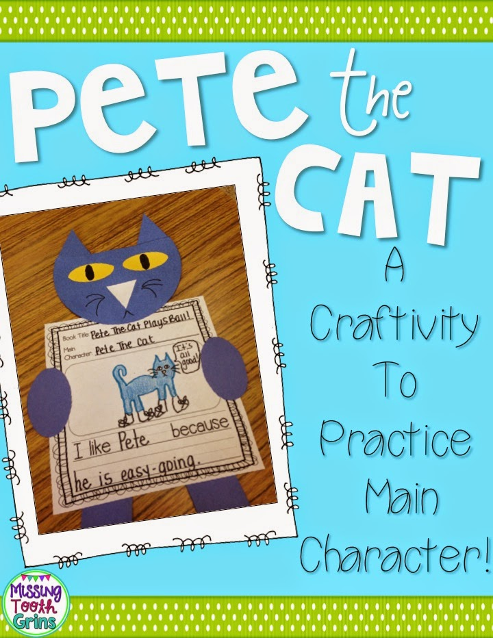 http://www.teacherspayteachers.com/Product/Character-Craftivity-Pete-The-Cat-1440366