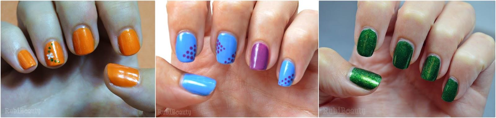 rubibeauty manicura diseño uñas faciles sencillos kiko