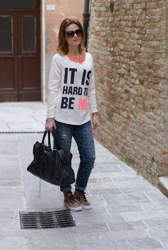 Vans leopard sneakers, ethnic print boyfriend jeans, Fashion and Cookies