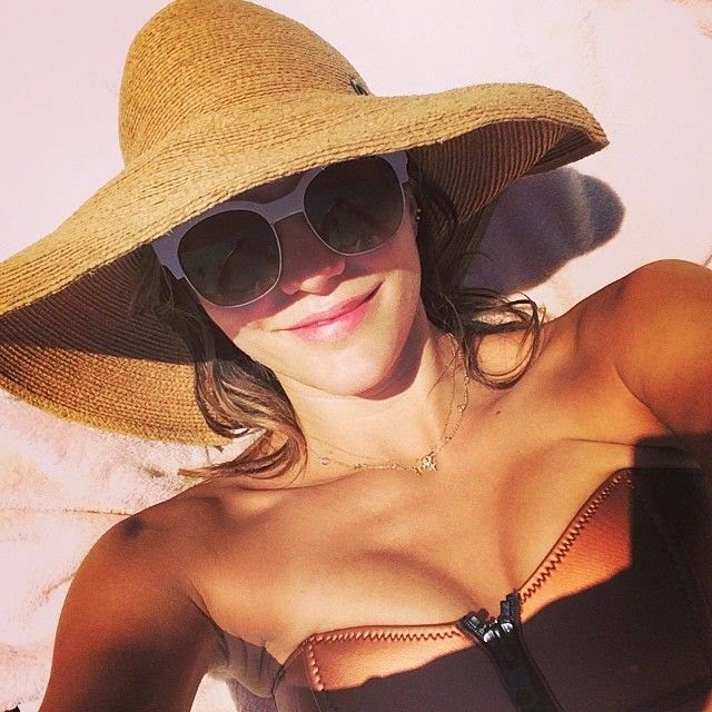 The former American Idol, Katharine McPhee gets stuck into the last atmosphere by related sunny trip with a female friend on Tuesday, June 3, 2014 in Cabo San Lucas, Mexico.