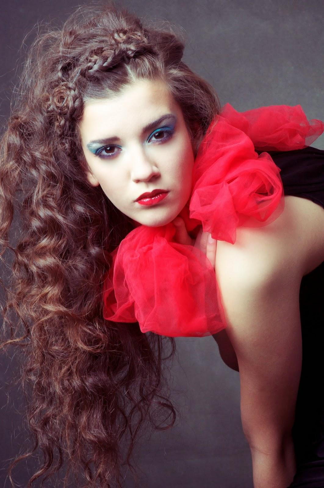 fryzury sesja z Angelika