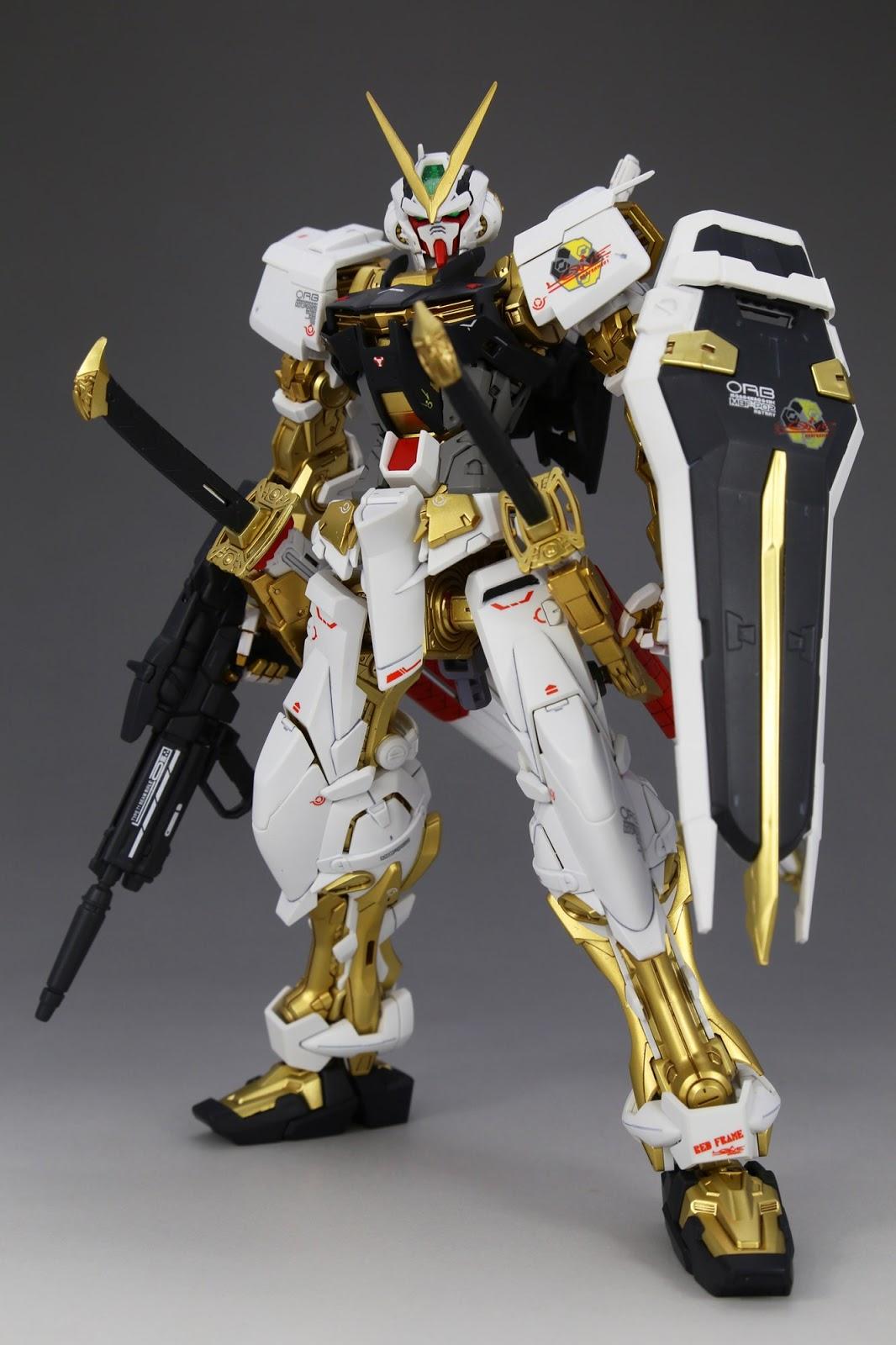 GUNDAM GUY: MG 1/100 Gundam Astray Gold Frame - Painted Build