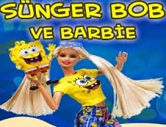 Sünger Bob Ve Barbie Oyunu
