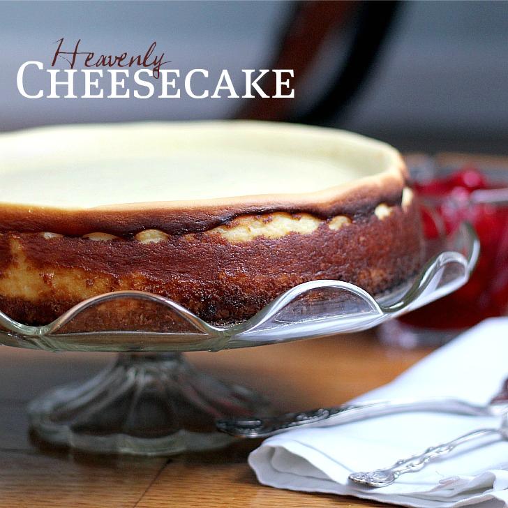Heavenly Cheesecake | Grateful Prayer | Thankful Heart