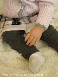 Make Baby Leg Warmers