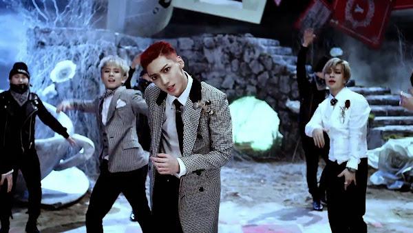 Boyfriend's Kwangmin in Bounce MV