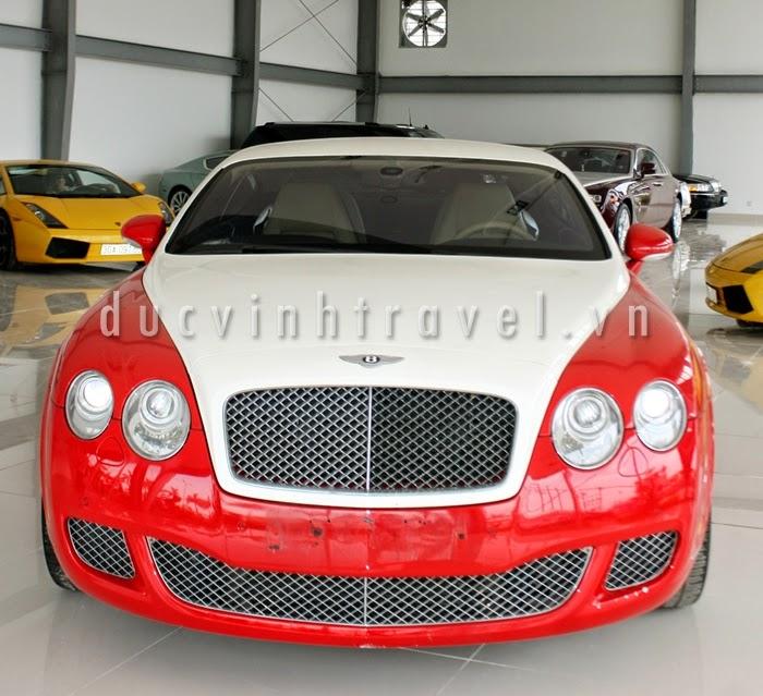 Cho thuê xe cưới Bentley Continental GT Đỏ 1