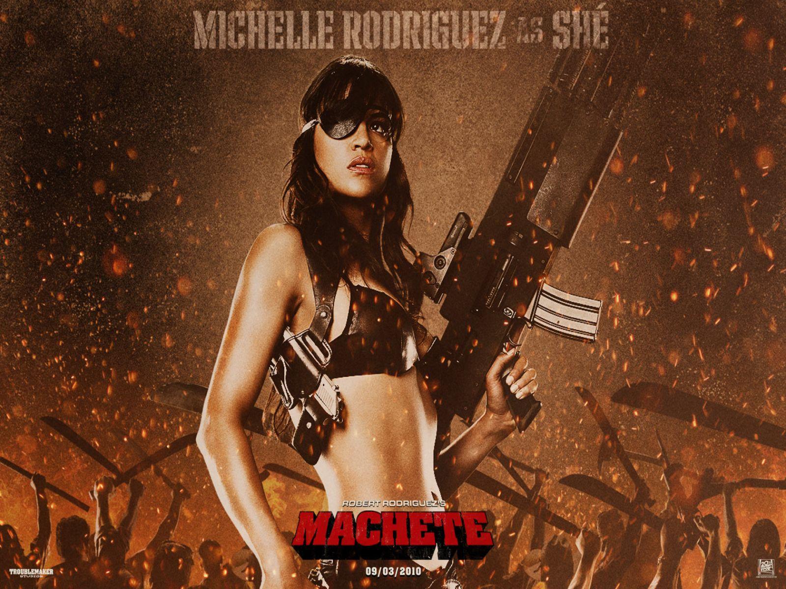 Same... Michelle rodriguez machete congratulate