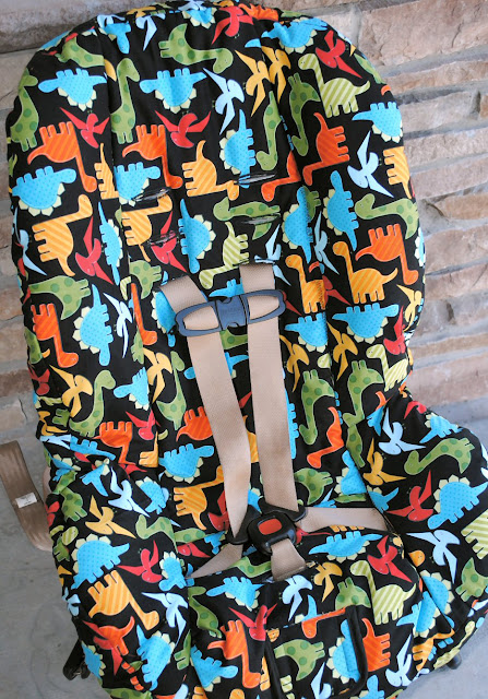 Toddler Car Seat Cover Pattern Tutorial