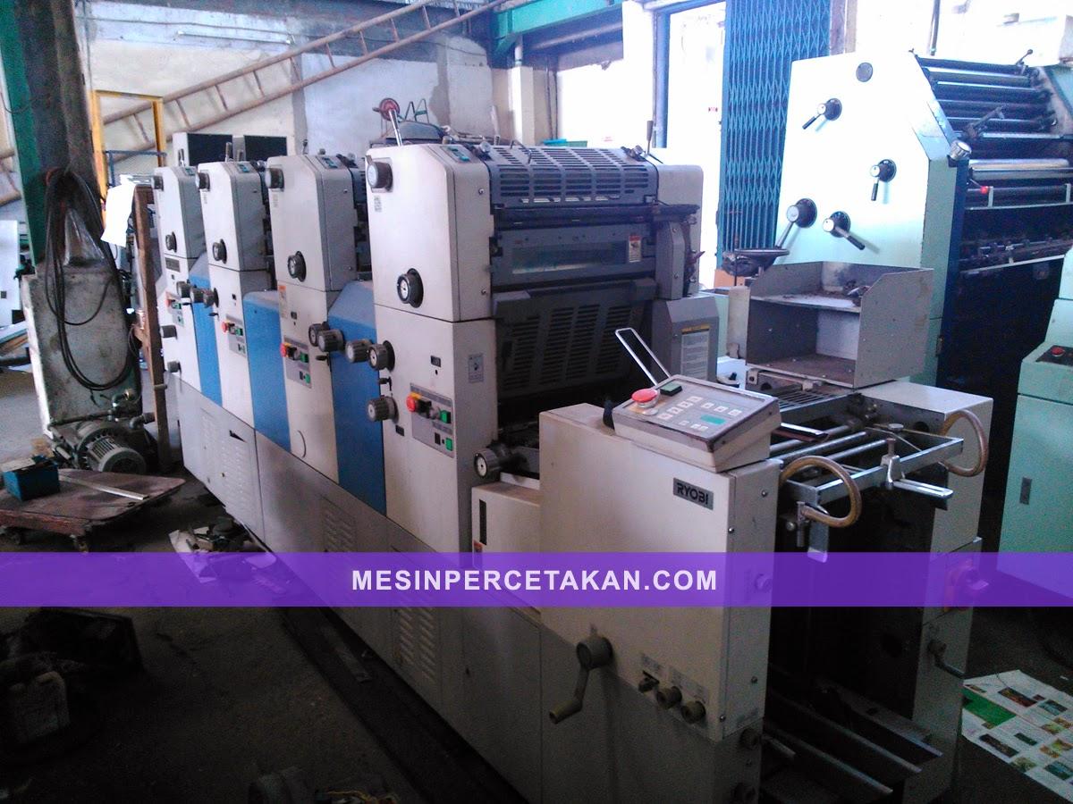Mesin cetak 4 warna | Ryobi 3304HA