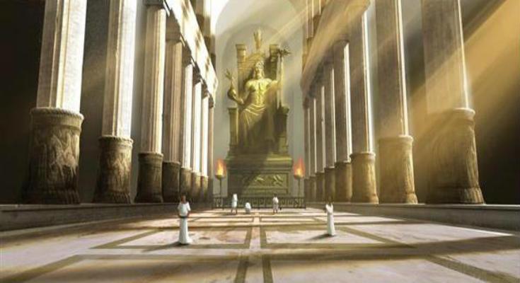 Ο Δίας επιστρέφει στον θρόνο του: Ξαναφτιάχνουν το Χρυσελεφάντινο Άγαλμα του Ολυμπίου Διός
