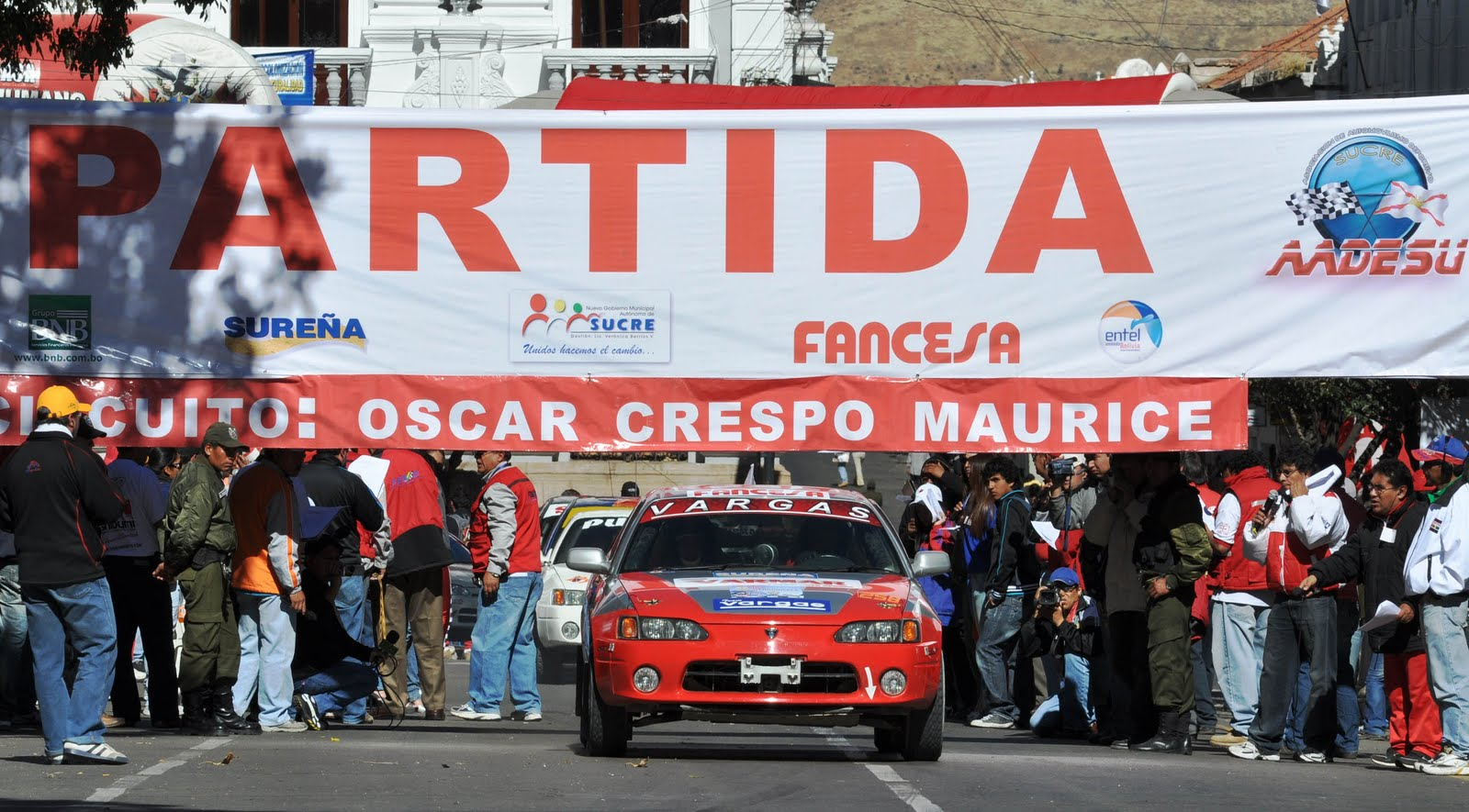 Circuito Oscar : El cruceño juan carlos salvatierra gana el circuito Óscar crespo