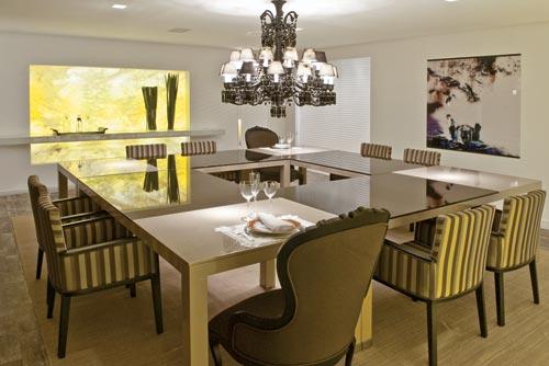 Sala De Jantar De Luxo ~ Inspiração de Salas de Jantar!  Realizando um Sonho  Casamento