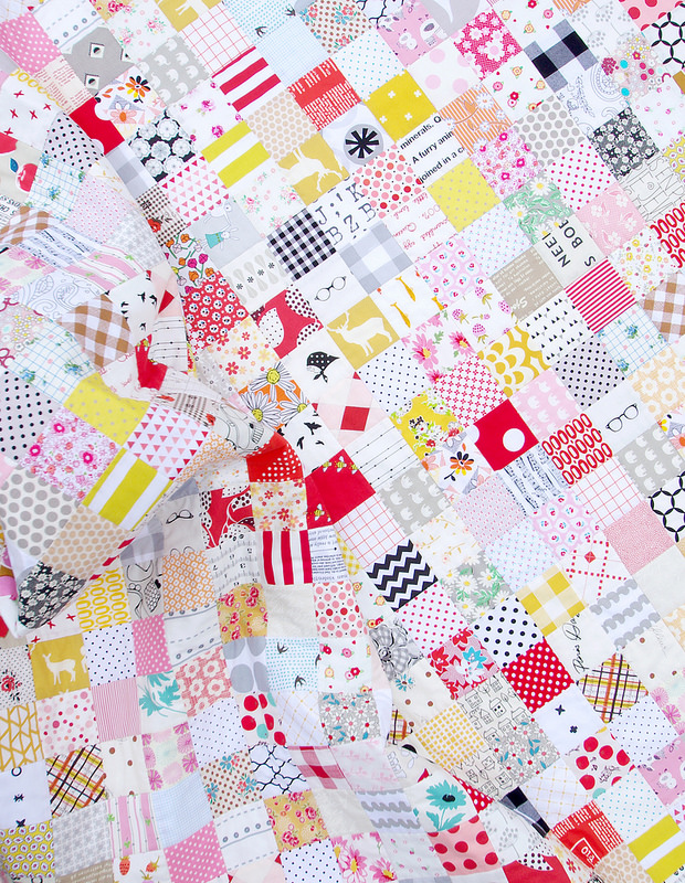 The Fall Quilt - A Finished Quilt   Red Pepper Quilts 2015