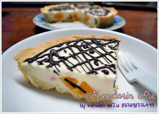 Resep Mandarin Orange Cream Cake Recipe Picture
