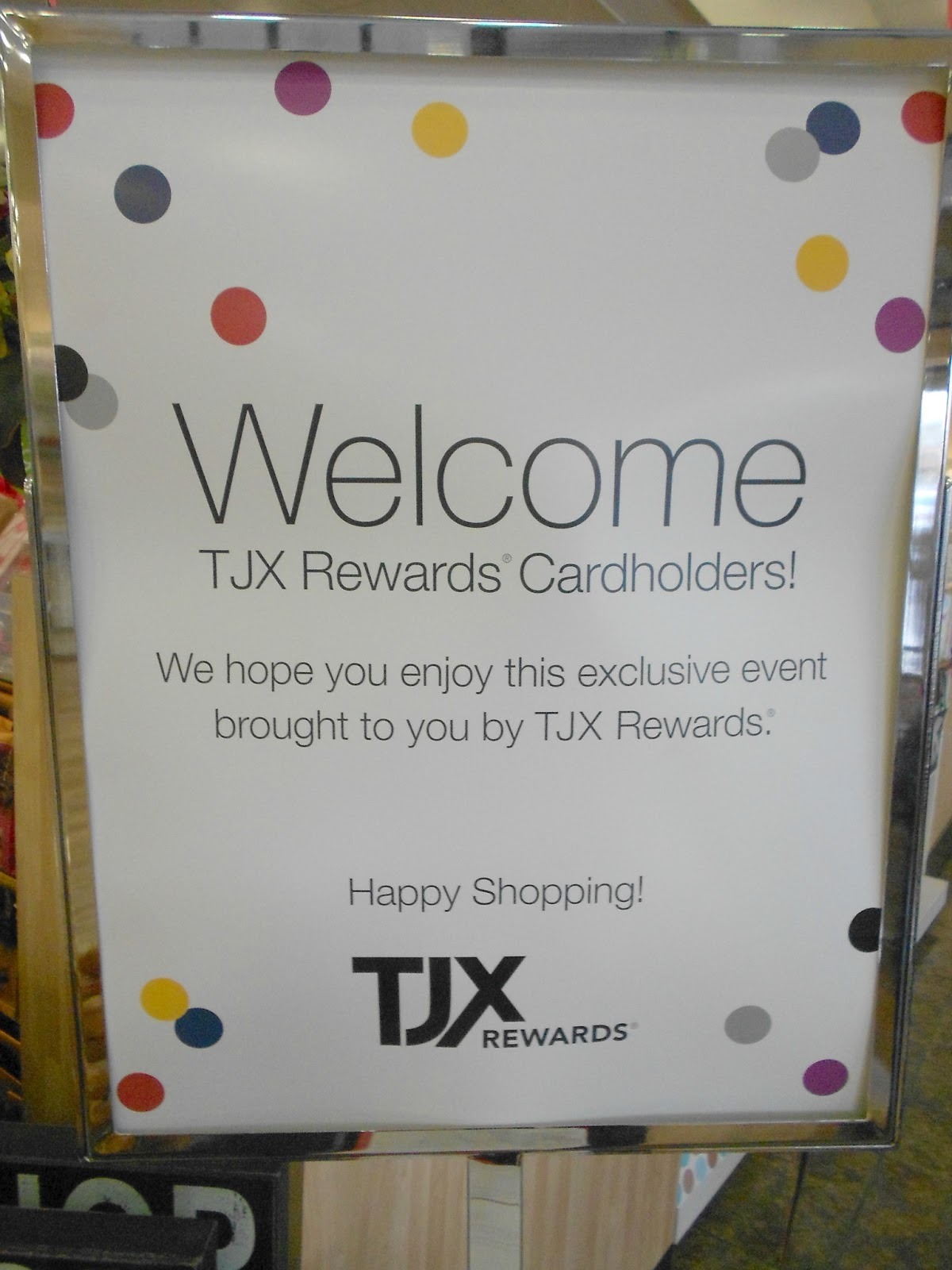 Have you been to a TJX Reward Event. Tracy s Notebook of Style  TJM Homegoods Event   Beachy Finds