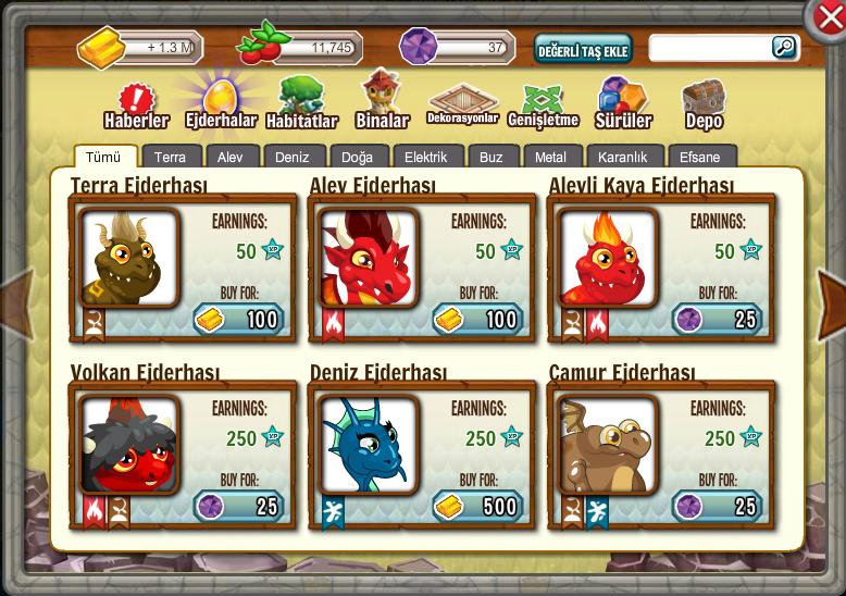 Dragon city programsız hile nasıl yapılır