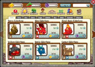 Dragon City Hileleri