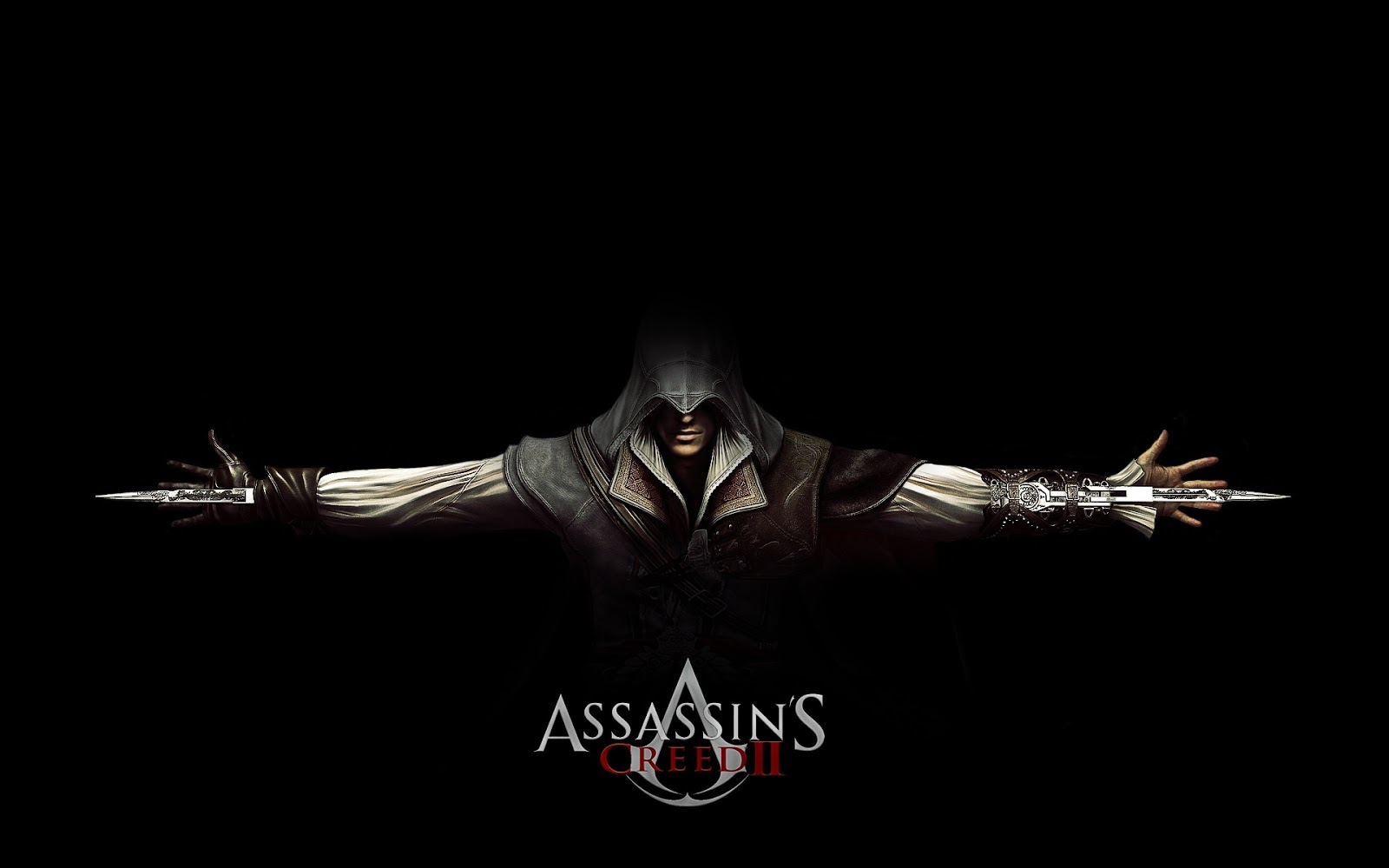 Assassins Creed II Black Background