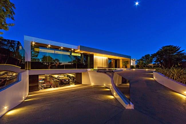 Casa rustica y minimalista rustic and minimal style for Mansiones minimalistas