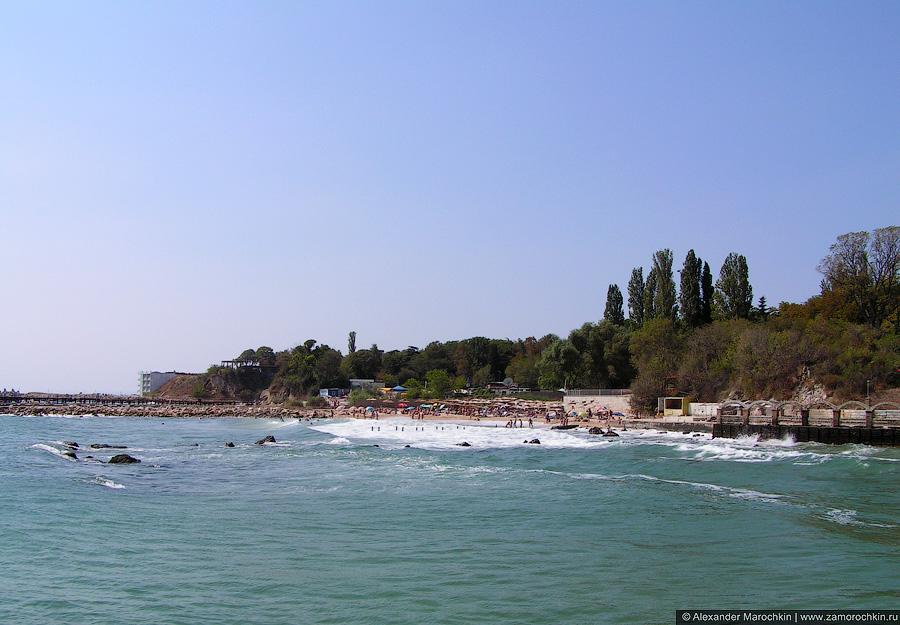 Море в Св. св. Константин и Елена, Болгария