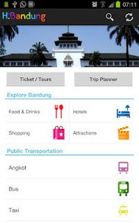 Aplikas Wisata Android; H!Bandung