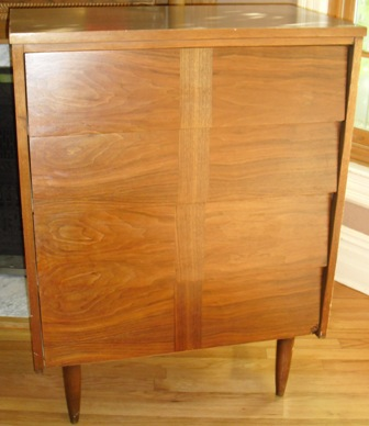 Angled / Louvered Drawers Mid Century Modern Dressers Circa 1960s   Ward  Furniture