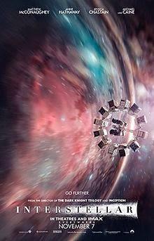 Interstellar (2014) English Movie Poster