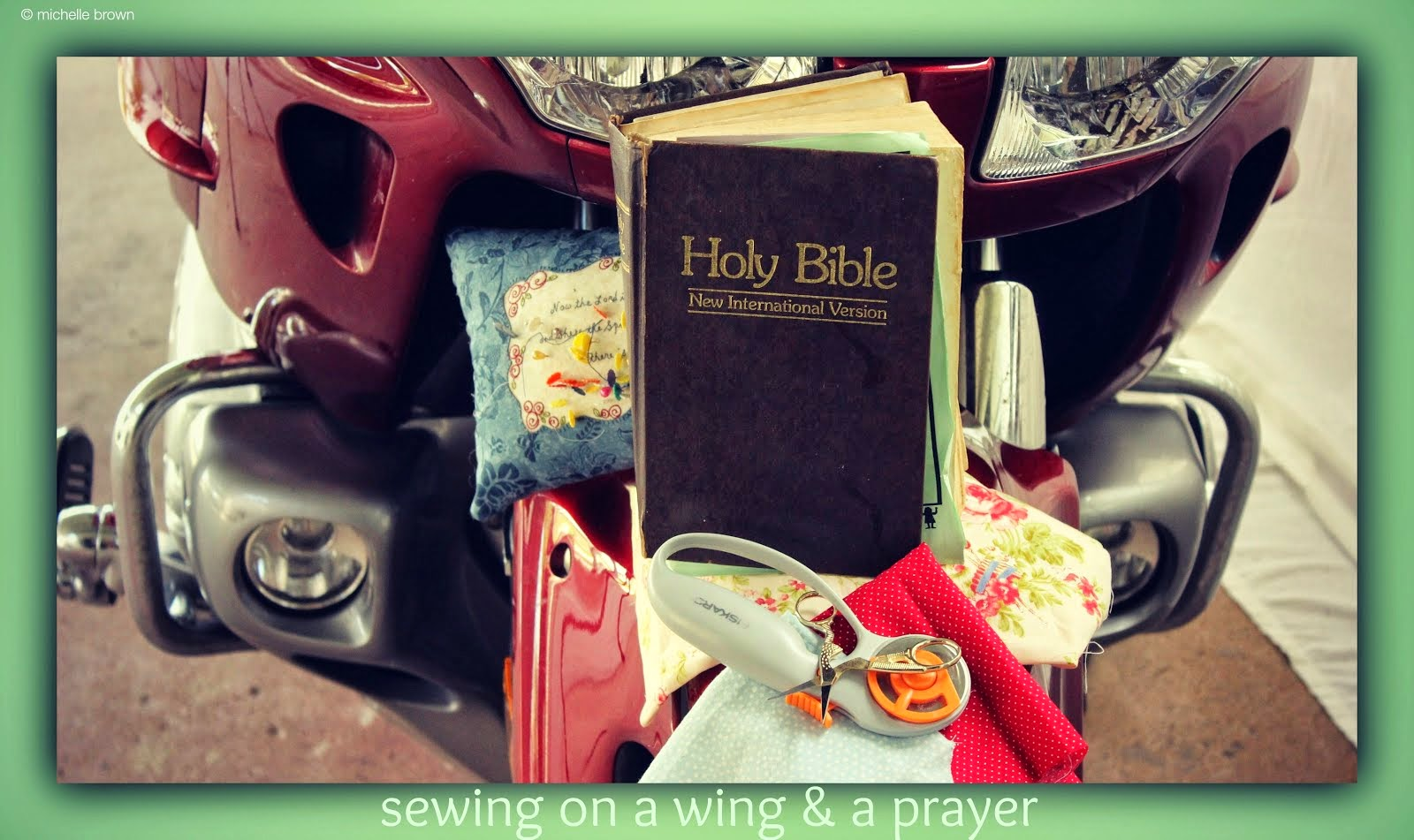 Sewing on a Wing & a Prayer