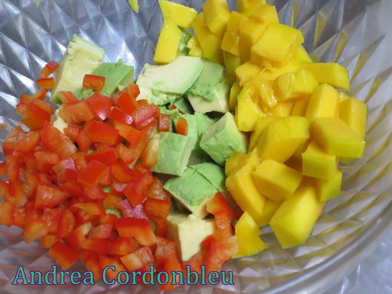Cordonbleu ensalada de aguacate y gambones la cocina fit de vikika - La cocina fit de vikika ...