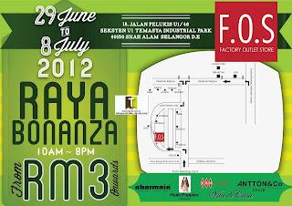 F.O.S Raya Bonanza Sale 2012