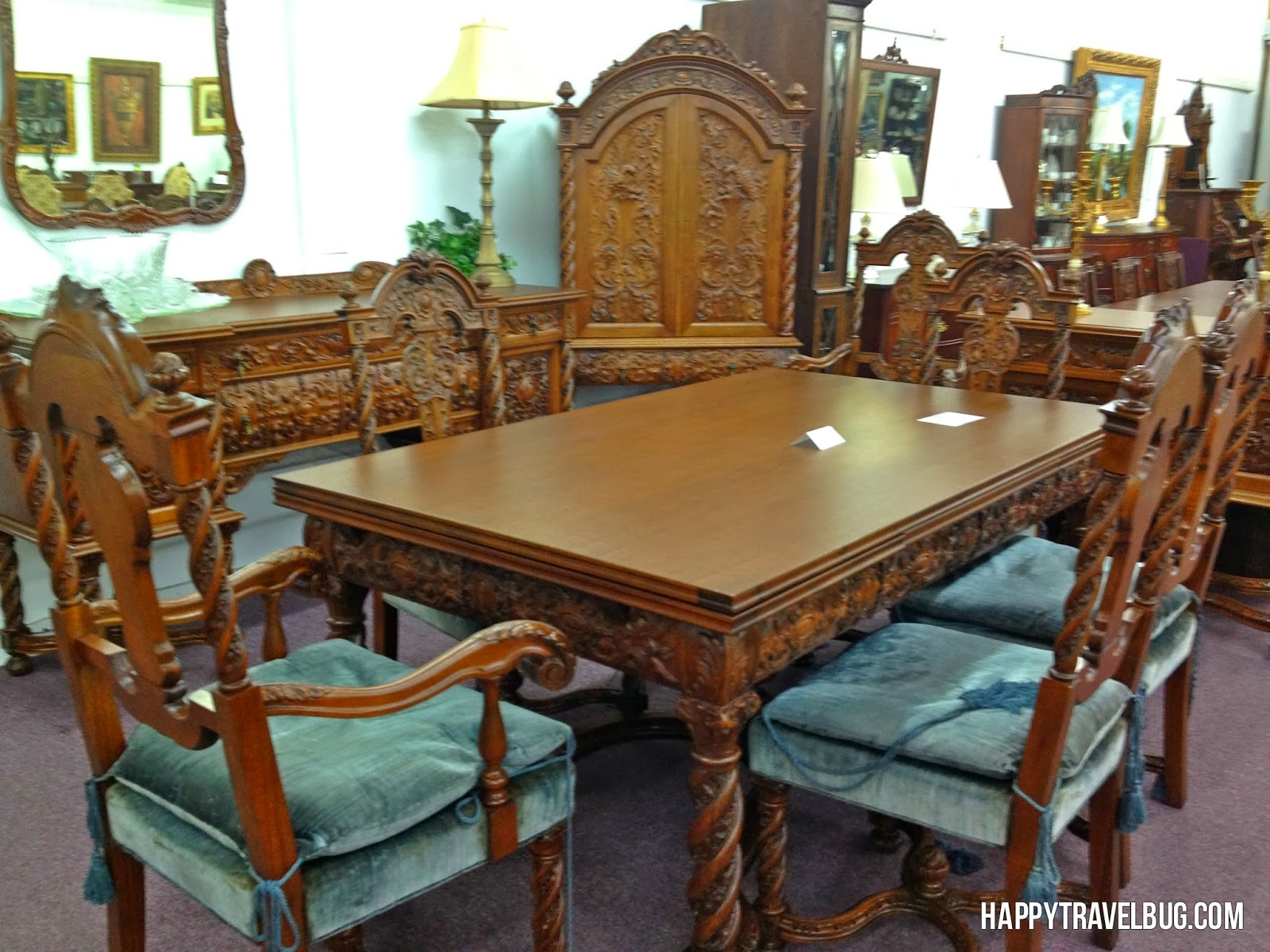 Antique Dining Table from Morris Antiques in Keo, Arkansas
