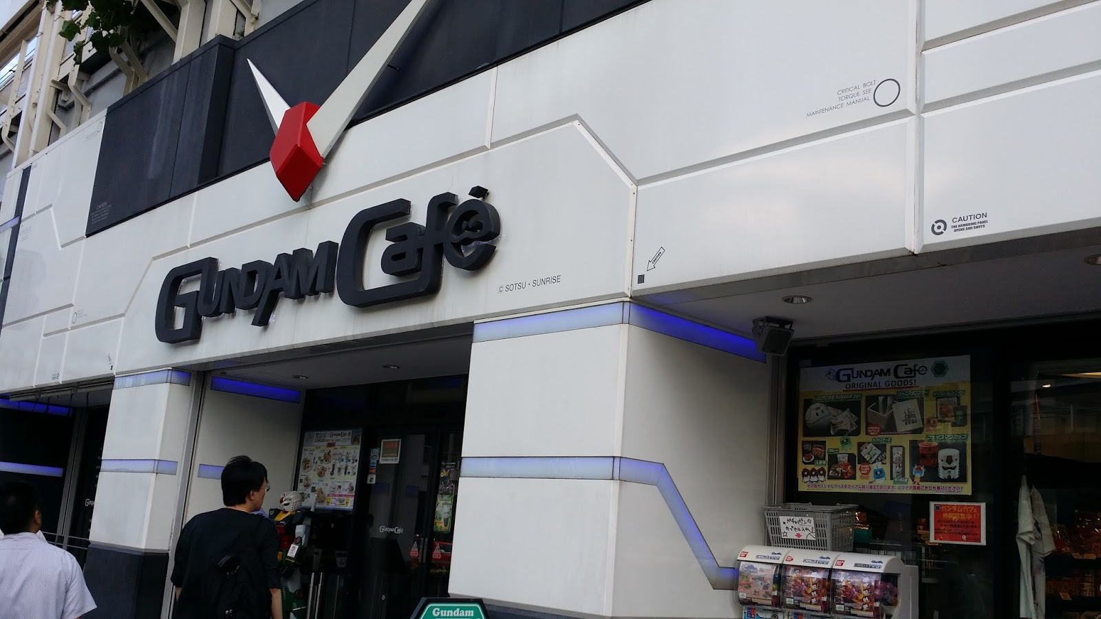 GEEKING OUT AGAIN @ GUNDAM CAFE - AKIHABARA