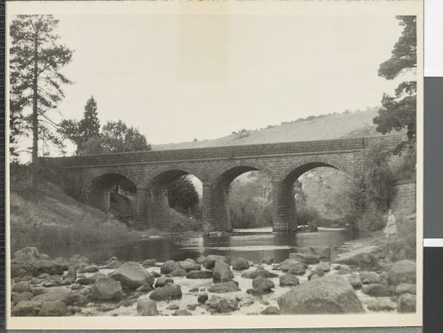 bulla bridge taken by colin caldwell in 1958 owned by state library of victoria