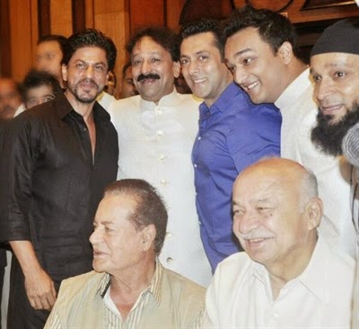 Salman Khan & Shah Rukh Khan meet again at Iftaar party
