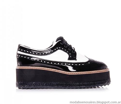 zapatos botas crepers Ricky Sarkany